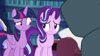 Twilight and Starlight looking at each other S7E19
