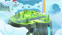 Wide view of the Wonderbolt Academy S9E26