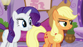 Applejack and Rarity catch Rainbow again S6E10.png