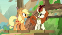 Autumn Blaze -after I started talking- S8E23