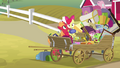 Big Mac puts Apple Bloom in the wagon S4E09.png