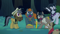 Caballeron and henchponies scared S4E04
