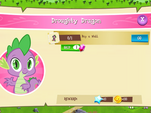 Droughty Dragon objectives MLP Game