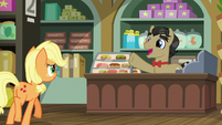 Filthy Rich pleased to see Applejack S6E23