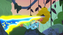 Flash bees shoot toward Mage Meadowbrook S7E20
