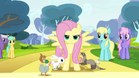 Fluttershy being purposeful S2E22