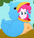 Pinkie Pie bird costume ID SS10