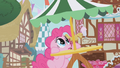 Pinkie Pie hears Gilda flying above S1E05.png