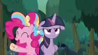 Pinkie Pie in Rainbow Power form S8E13