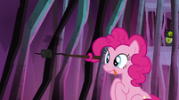 Pinkie Pie with a roasted marshmallow S8E26