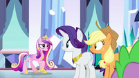 Princess Cadance calming down S9E1