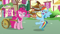 "Rainbow Dash ""I can't wait to eat..."" S7E23"