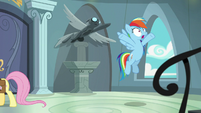 "Rainbow Dash ""how long will it take them"" S9E21"