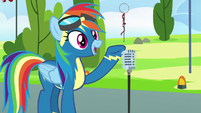 "Rainbow Dash ""welcome to the..."" S7E7"