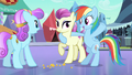 Rainbow Dash of course S3E1.png
