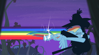 Rainbow Dash tackles shadowy figure S4E07