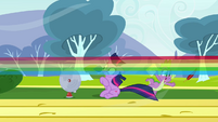 Rainbow blasts by S2E22