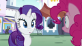 Rarity and Pinkie hear a strange sound S6E12.png