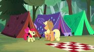 S07E16 Rozstawianie namiotów