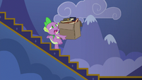 Spike starting to lose his balance S6E25