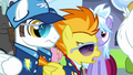 Spitfire 'Betcha'll think you're Wonderbolt material' S3E07.png