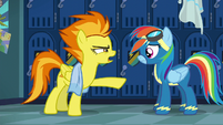 Spitfire --you need to stop-- S6E7