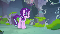 Starlight Glimmer looking very nervous S7E17