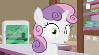 Sweetie Belle remembers the ice cream shop S7E6