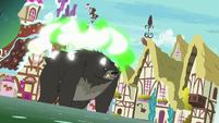 Thorax transforms into a black bear S7E15