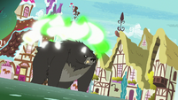 Thorax transforms into a black bear S7E15
