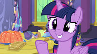 "Twilight ""perfect for your welcome party"" S7E15"