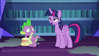 Twilight Sparkle --gonna feel that in the morning-- S6E21