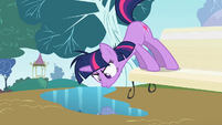 Twilight Sparkle Stare Off S2E3