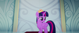 Twilight Sparkle calming herself down MLPTM