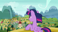 Twilight sees a snowflake on the wind S6E1