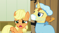 Young Applejack --that's my brother on there!-- S6E23