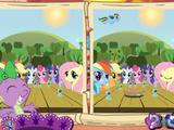 My Little Pony La magia de la amistad: Descubre las diferencias