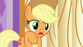 """Applejack """"not sure it's somethin' you can just"""" S6E10.png"""