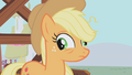 Applejack with lazy eyes S1E4.png
