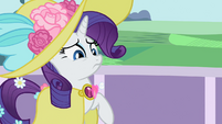 Balloon hitting Rarity S02E09