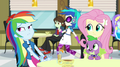 DJ Pon-3 crosses in the background EG2.png