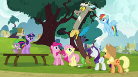 "Discord ""what a brilliant idea!"" S5E22"