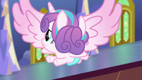 Flurry Heart looking around for Twilight S7E3
