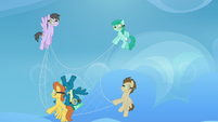 Net-carrying Pegasi catch Sky Stinger S6E24