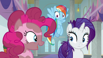 "Pinkie Pie ""at least we got to go spelunking"" S8E15"