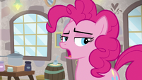 Pinkie Pie a little annoyed S8E3