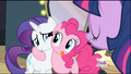 Pinkie Pie hugging Rarity S2E11.png