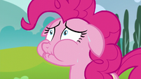 Pinkie reaching her secret-keeping limit S5E19