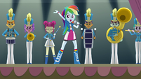 "Rainbow Dash ""Come cheer our name"" EG3"