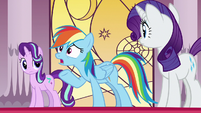 "Rainbow Dash ""the Pony of Shadows was really real?"" S7E25"